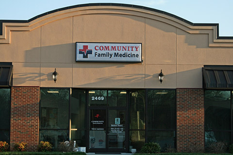 community family medicine entrance